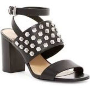 Michael Kors Valencia Studded Sandal in Black